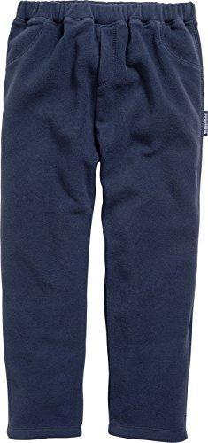 Playshoes Jungen Fleece Hose, Blau (Marine 11), 116