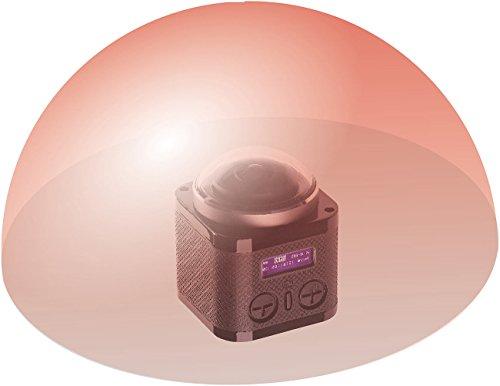 Somikon 360°-4K-Action-Cam, 16-MP-Sony-Sensor, 24 B./Sek., Fernbedienung, IP68 - 4