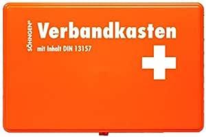Söhngen Kiel Ku Verbandskasten Mit Füllung Orange Koffer Aus Abs Kunststoff 260x160x80 Mm 3003045 Spielzeug