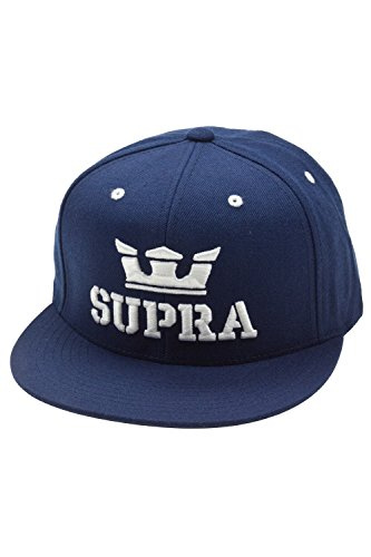 Supra Above Snapback Cap Navy White