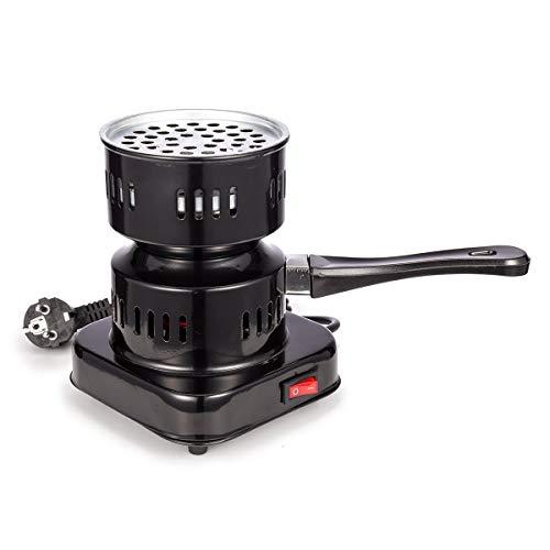 RMAN® Elektrischer Shisha Kohleanzünder Kohle-Brenner 600W Wasserpfeife Heizplatte