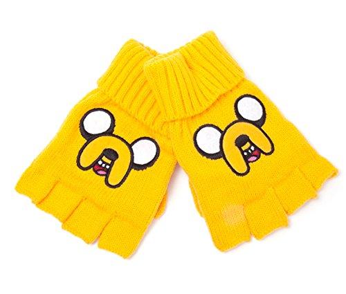 Adventure-Time-Handschuhe-Jake-Fingerless-Gloves