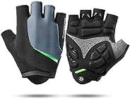 ROCK BROS Cycling Gloves Mountain Bike Gloves Men Women Road Bike Gloves Gel Paded Bicycle Gloves Half Finger