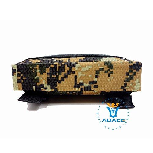 4x 6multifunzione sopravvivenza Gear Tactical marsupio Molle della velcro bag Tactical marsupio, strumento di campeggio esterna portatile di viaggio borse borse borse del sacchetto DC