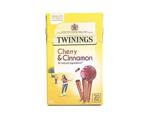 Twinings Cherry & Cinnamon 20 Btl. 40g - Früchtetee mit Kirsch- und Zimtgeschmack