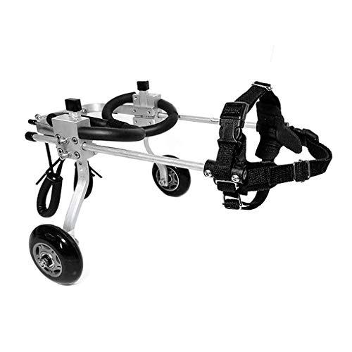 Verstellbarer Haustierrollstuhl, Hinterbeine, Behinderter Rollstuhl, Geeignet Für Behinderte Hunde, Hinterbeine, Reparatursitz Für Haustiere