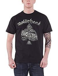Motorhead 'Ace Of Spades B&W Tattoo' T-Shirt