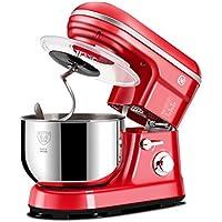 Virtpers Mezclador de Cocina eléctrica de pie Máquina de Cocina de 1000W 220V Contenedor de Huevo