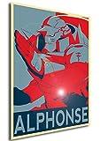"Poster Full Metal Alchemist ""Propaganda"" Alphonse - FMA Formato A3 (42x30 cm)"
