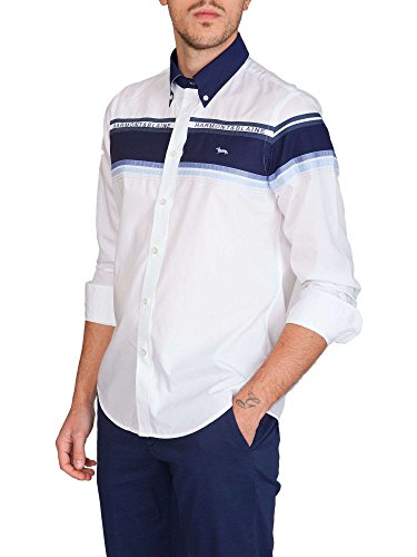 HARMONT & BLAINE Herren Business-Hemd weiß Bianco Bianco