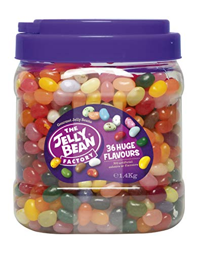 The Jelly Bean Factory 36 Gourmet Flavours 1,4 kg Jar | Gourmet Jelly Beans -