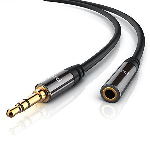 Primewire - 5m Cable Auxiliar Audio Cable alargador