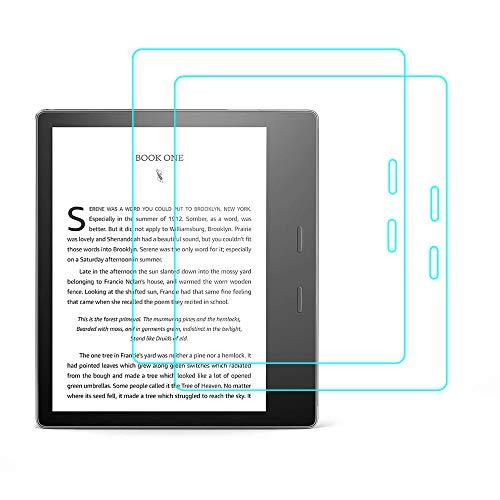 RLTech Panzerglas für Der Neue Kindle Oasis, [9H Härte] [2,5D Runde Kanten] [Anti-Kratzer] gehärtetes Glas Display Schutzfolie für Der Neue Kindle Oasis (10. Generation - 2019), 2PCS