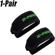 1 Pair Pedal Straps Bicycle Feet Strap Bike Strap for Fixed Gear Bike, Black