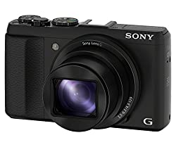 Sony DSC-HX50V 16.1MP Point and Shoot Digital Camera (Black) with 30x Optical Zoom