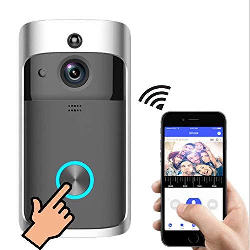 SHUAISHUAI WiFi-Video-Türklingel Intelligente Türklingel-Überwachungskamera Mit PIR-Bewegungserkennung Und App-Steuerung Für Ios Und Android (Erstellen Von Ios-apps)