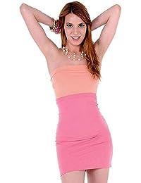 74af7fbf20 Amazon.es  Palabra de honor - DaVani Moda   Vestidos   Mujer  Ropa
