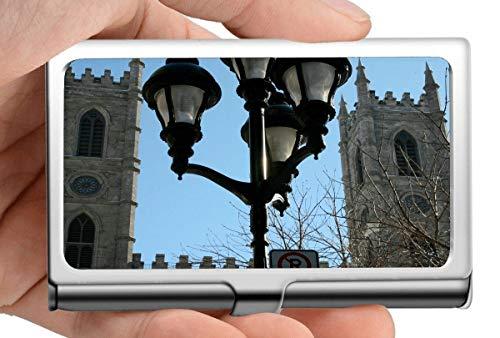 Business Name Kartenhalter, Glaube Glaube Notre Dame Basilika In Montreal Soul Fortsetzung Edelstahl Kartenhalter