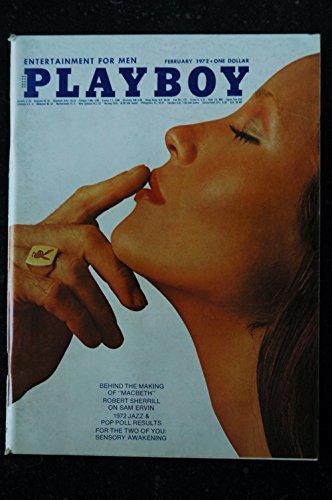 PLAYBOY Us 1972 02 P J Lansing Barbara Carrera Buckminster Fuller