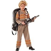 Girls Deluxe Ghostbuster's Movie Fancy Dress Costume Medium