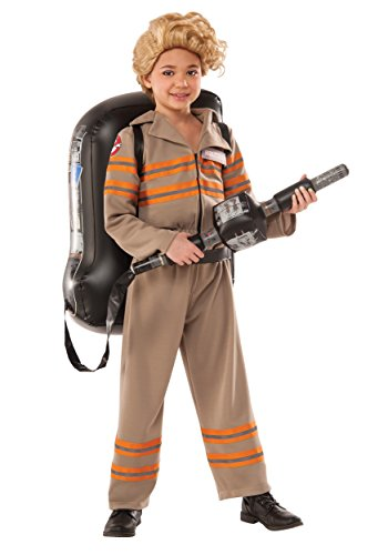 Rubie's Girls Deluxe Ghostbuster's Movie Fancy Dress Costume Large
