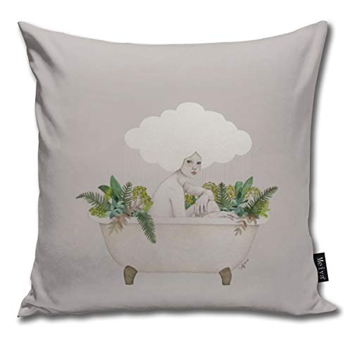 Hydra Throw Pillow Cover Square New Living Series Decorative Throw Pillow Case Double Side Design 18