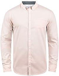 Blend Fill Herren Freizeithemd Hemd mit Button-Down-Kragen Aus 100% Baumwolle