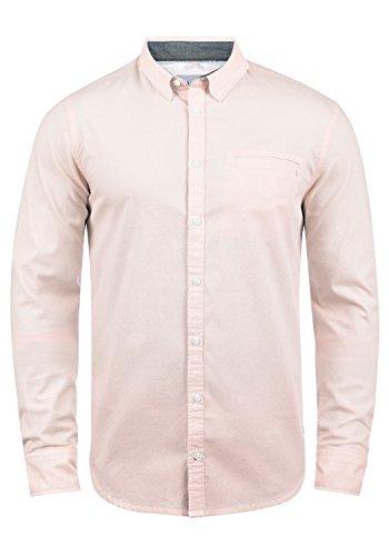 Blend Fill Herren Freizeithemd Hemd Mit Button-Down-Kragen Aus 100% Baumwolle, Größe:XL, Farbe:Cameo Rose (73835) (Rosa Karierte Hemd Herren)