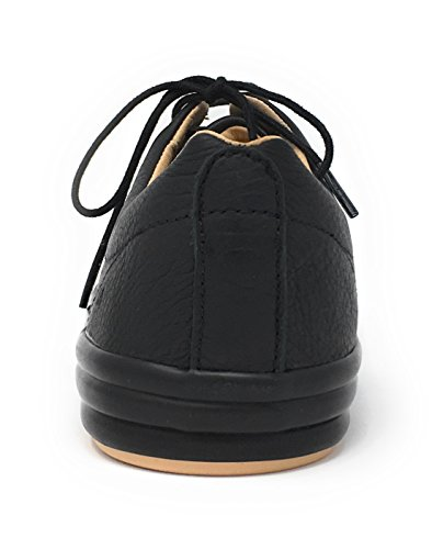 CAMPER Damen Hoops Sneaker, Weiß, 39 EU Schwarz