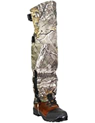 Raptor Hunting Solutions Realtree imperméable coupe-vent Guêtres Protection Protection contre l'humidité neige Protection du Genou Mountain Hiking Gaiter