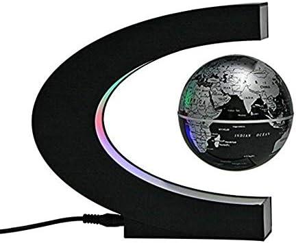 LPYMX Globe magnétique de lévitation Cadeau en Forme de C C C de décoration de Bureau étudiant (Couleur : Noir) | Exceptionnelle  73fbff