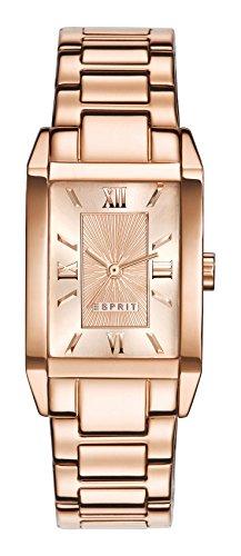 Esprit Damen-Armbanduhr Helena Analog Quarz Edelstahl beschichtet ES000EO2013