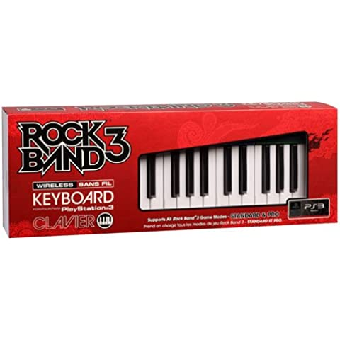 Rock Band 3 Wireless Keyboard (PS3) [Importación inglesa]