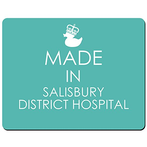 Made in Salisbury District Krankenhaus – PREMIUM Mauspad (5 Dick) (District V2)