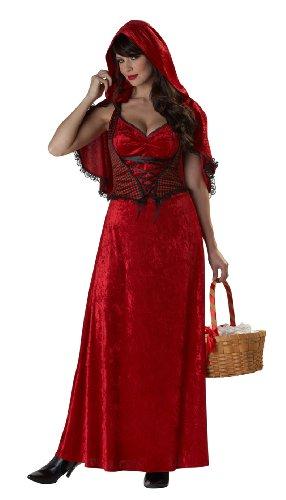 Costume cappuccetto rosso adulto Small