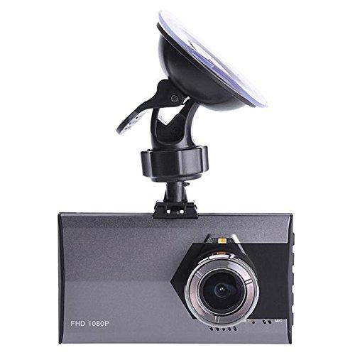 Bluestercool 1080P Full HD G-Sensor Gray Car DVR Dash Camera Vehicle Video Cam Recorder -