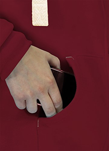 CottonRidge - Sweat à capuche - Femme Bordeaux