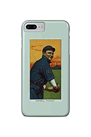 Cincinnati Reds - Billy Campbell - Baseball Card (iPhone 7 Plus Cell Phone Case, Slim Barely There)