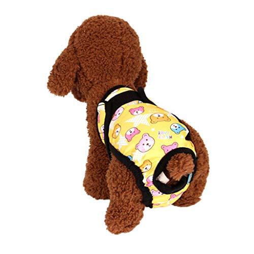Hawkimin hundepullover Haustier Hund Mode drucken Gesundheit Physiologie Haustiere Menstruations Physiologische und Hygienische Hose -