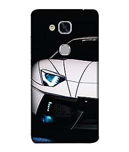 PrintVisa Designer Back Case Cover for Huawei Honor 5c :: Huawei Honor 7 Lite :: Huawei Honor 5c GT3 (Rich car stylish car)