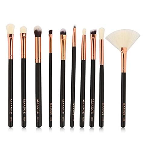 LONUPAZZ 10 pcs/set maquillage brush set makeup brushes kit outils maquillage professionnel maquillage pinceaux yeux pinceau pour les