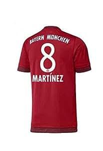 FC Bayern Home Trikot Kinder 2016 - Martinez 8, Größe:176