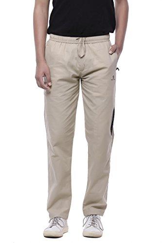 JTInternational Gray Cotton Regular Fit Cargo Track Pant