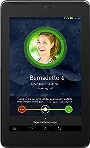Asus Fonepad 7 LTE ME372CL-1B020A 17,8 cm (7'') Tablette Tactile (Intel Atom Z2560, 1,6GHz, 1Go RAM, 8Go HDD, SGX544MP2 Grafikkarte, Ecran tactile, Android) Noir (Import Europe)