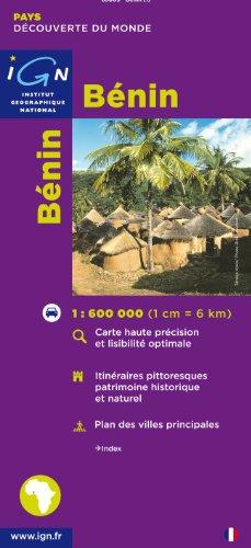 IGN - Carte : Republique du Benin - 1:600000 par Cartes des Pays et Villes du Monde IGN