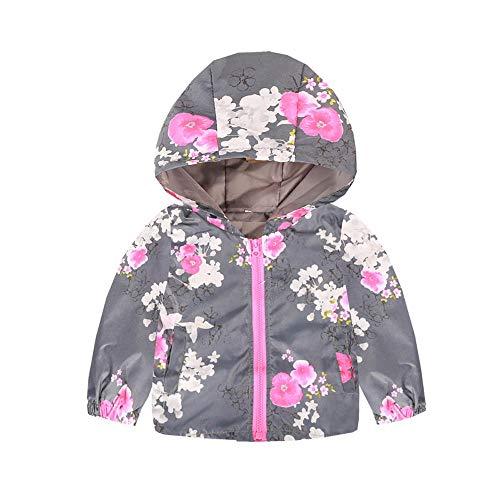 Giacca a vento bimba giacche per bambini abbigliamento bimbo autunno giacca 3 anni toddler bambini bambino ragazze ragazzi manica lunga cartoon stampa con cappuccio cappotti abiti morwind