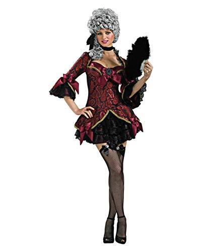 Horror-Shop Düsteres Lady Versailles Marie Antoinette Kostüm für Rokoko Mottoparty ()