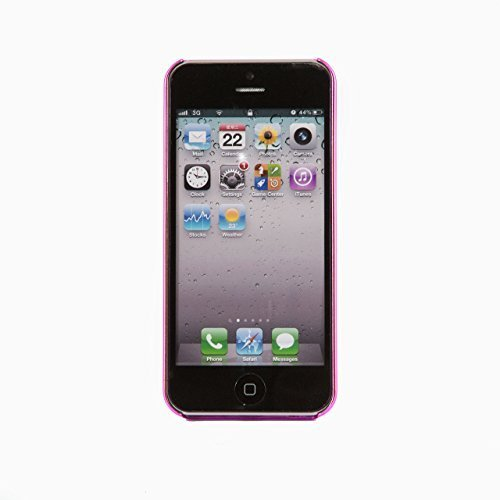 iProtect Schutzhülle Apple iPhone 5, 5s, SE Hülle Walking Dog Edition transparent pink Pink Fee