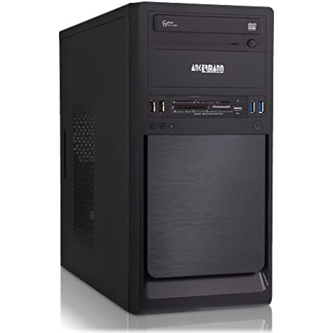 Ankermann-PC SSD Office Home Work Eco, AMD A4-6300 2x 3.70GHz Turbo: 3.90GHz, MSI A68HM GRENADE, onBoard AMD Radeon HD 7480D, 8 GB DDR3 RAM, 240 GB SSD, -, Card Reader, EAN