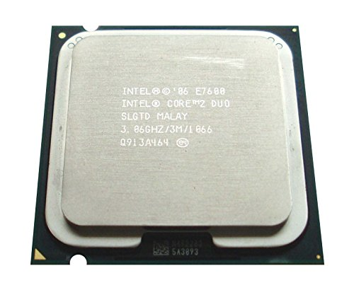 Intel Core 2 Duo E7600 slgtd 3.06 GHz 3 MB Desktop CPU Prozessor LGA775 - Duo Prozessor Core Intel 2 Lga775